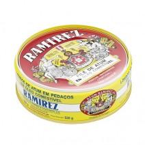 Files de atum em oleo 800 g - RAMIREZ